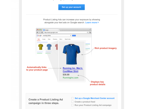 'Stand Out' Direct Response Email for Google Shopping