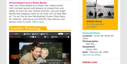 Boe Gatiss - Exposure Newsletter for Kodak Gallery