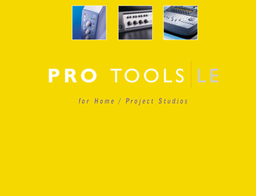 Pro Tools LE Brochure for Digidesign
