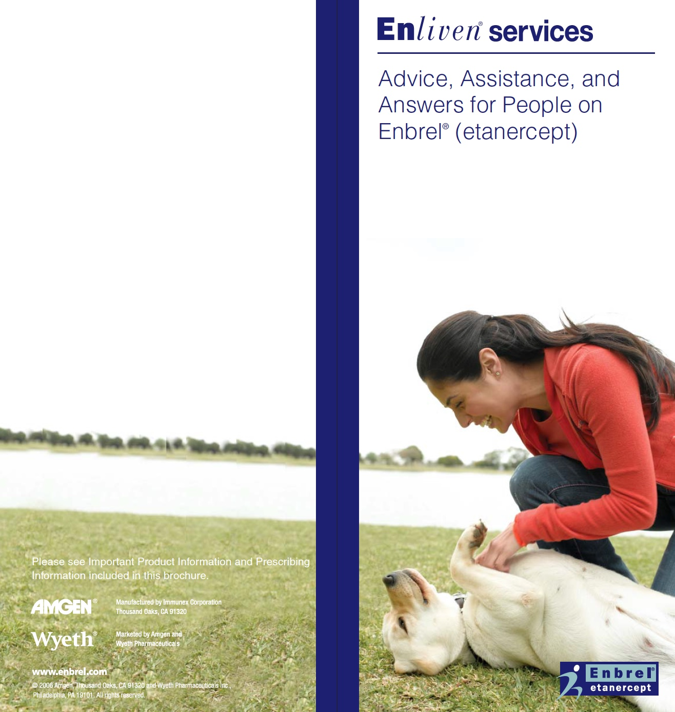 Enbrel Enliven Brochure for Amgen