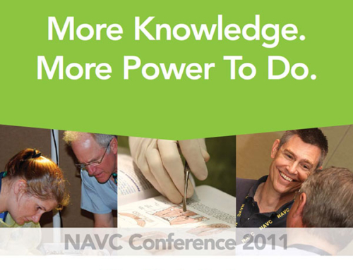 Print Insert for NAVC Conference