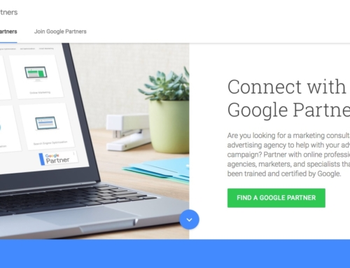 Google Partners subsite