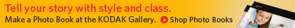 Boe Gatiss - Banner ad for Kodak Gallery