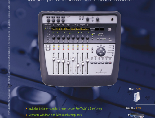'Why Pro Tools?' Print Ad for Digidesign